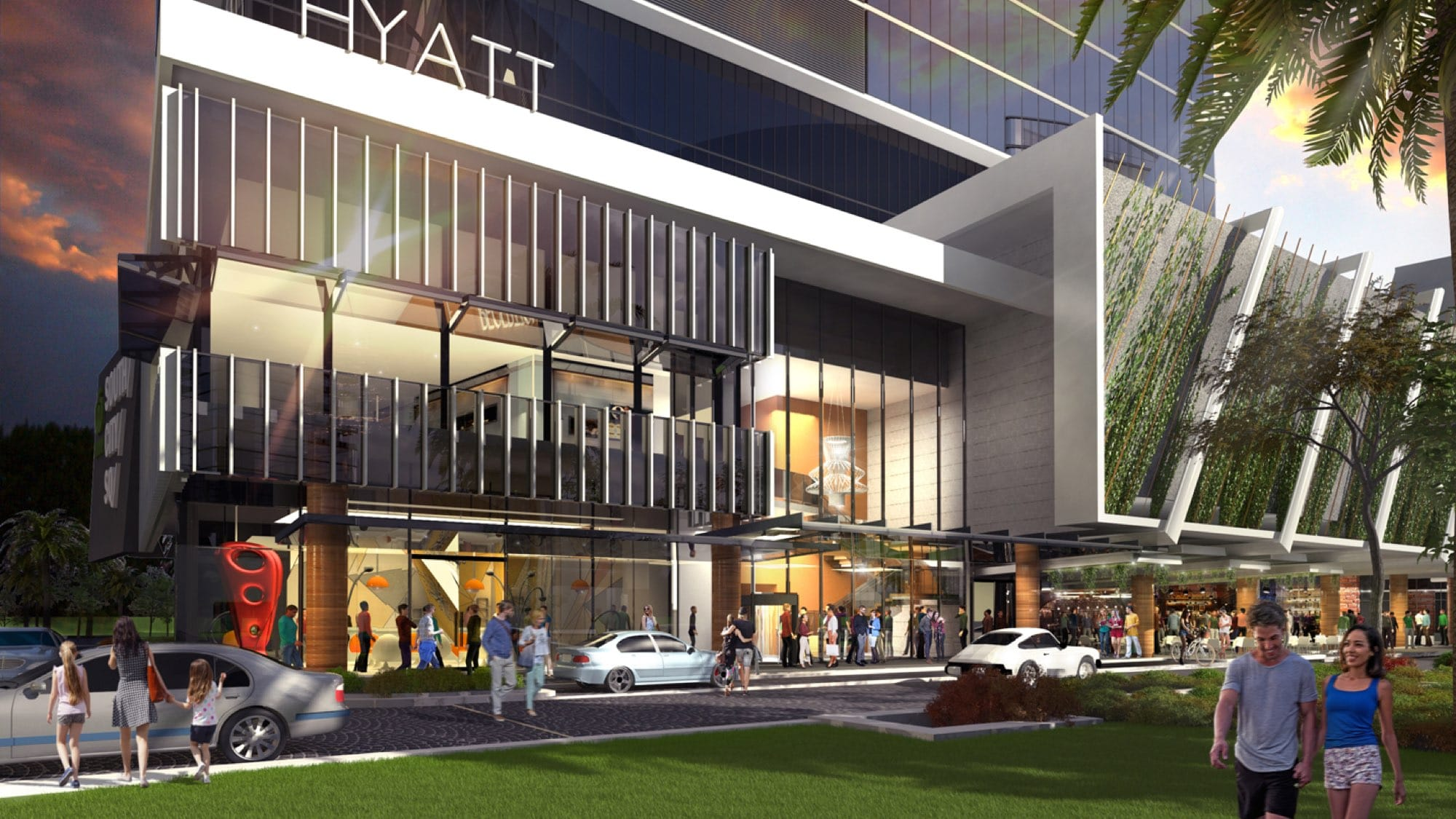 Hyatt Selected as Hotel Operator for South City Square